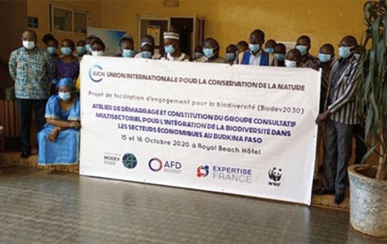 Burkina-reunion lancement